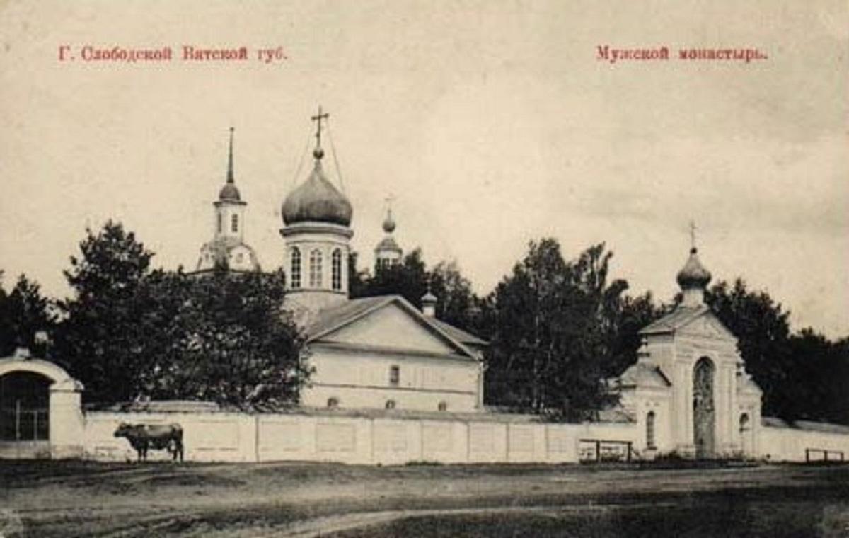 Мужской монастырь..