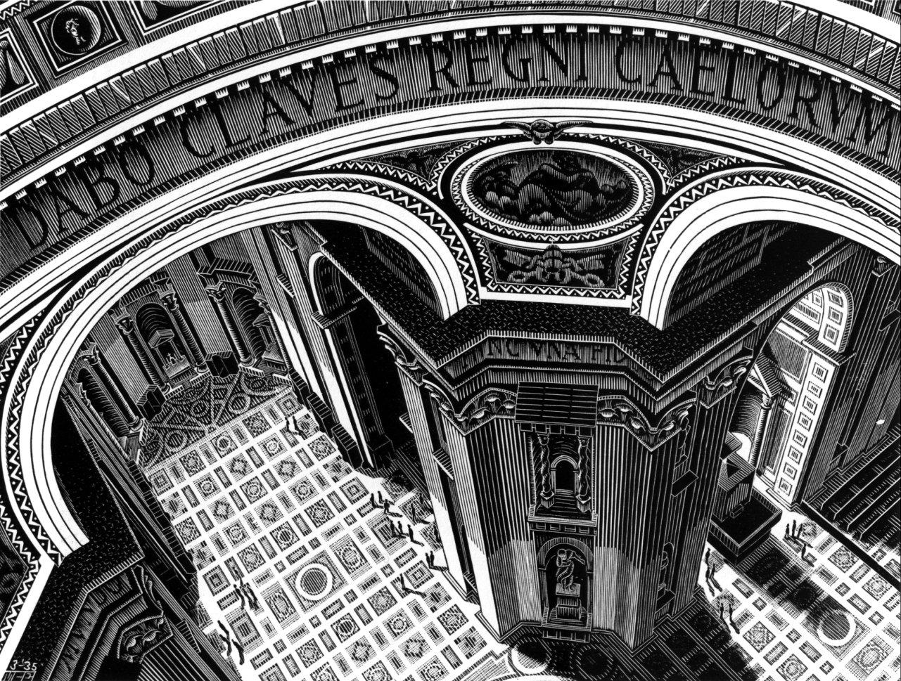 Внутри Св. Петра. 1935