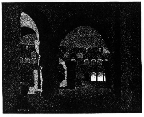 Ночной рим. Колизей