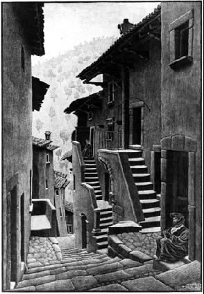 Улица в Скано