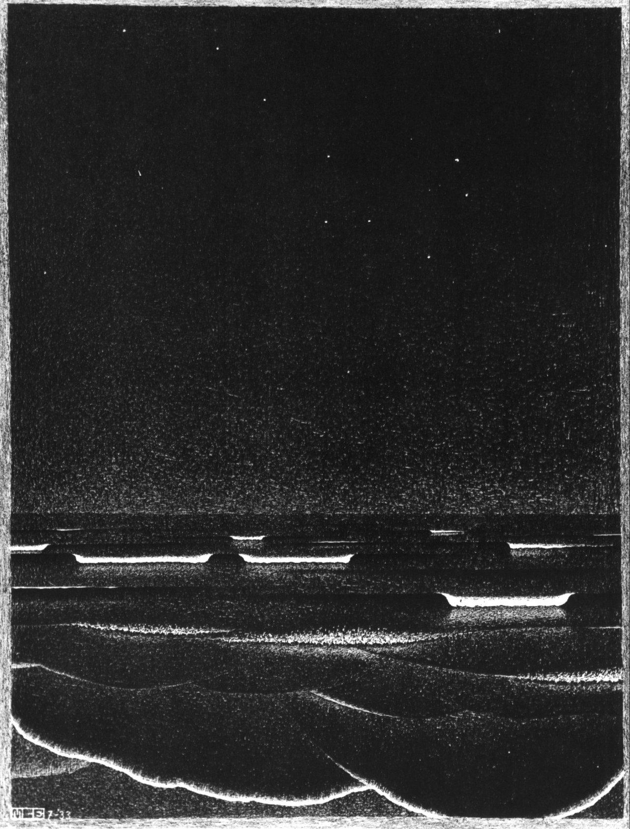 Фосфоресцирующееся море