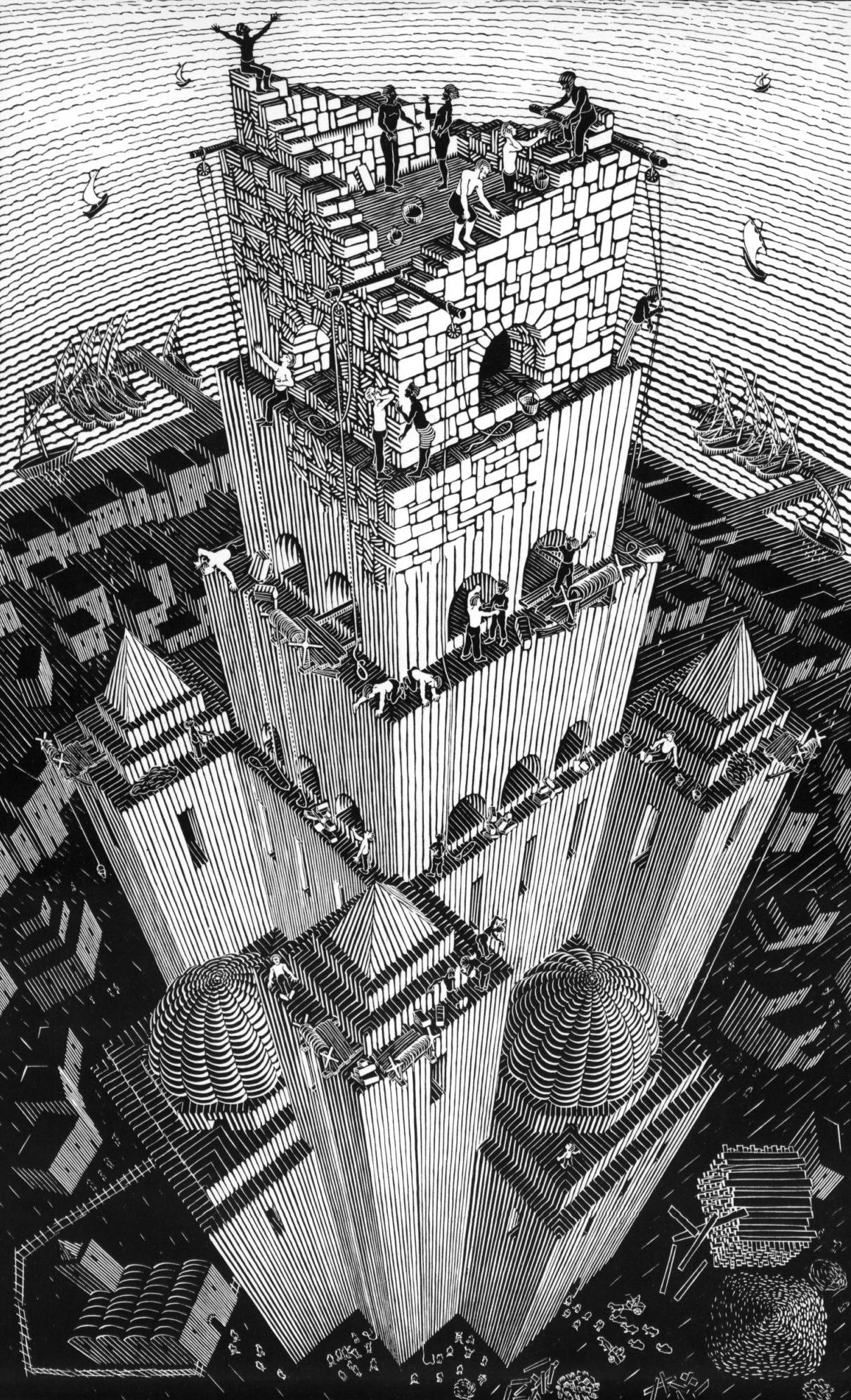 Вавилонаская башня