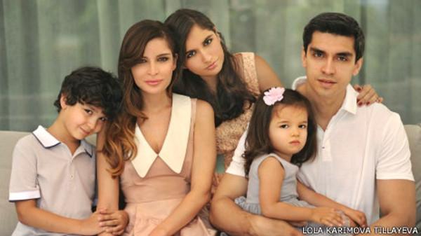 Севара назархан муж и дети фото