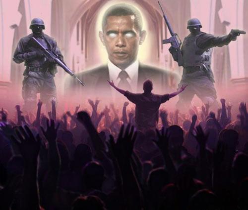 Барак Обама антихрист