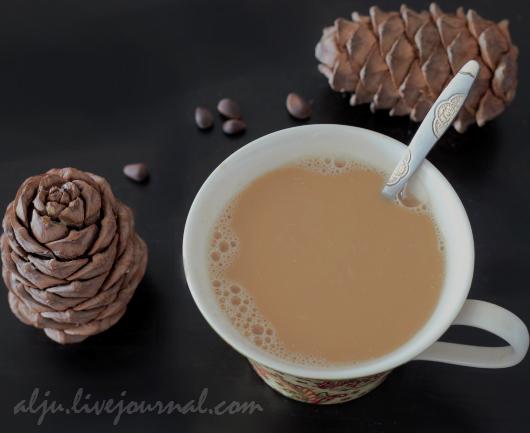 Кофе с кедровым молочком