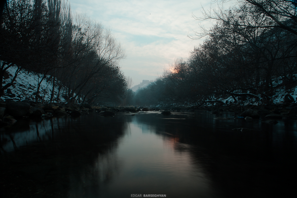 Река Раздан. Ереван
