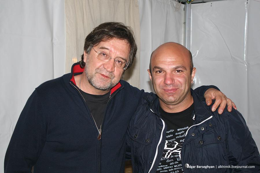 Юрий Шевчук и я