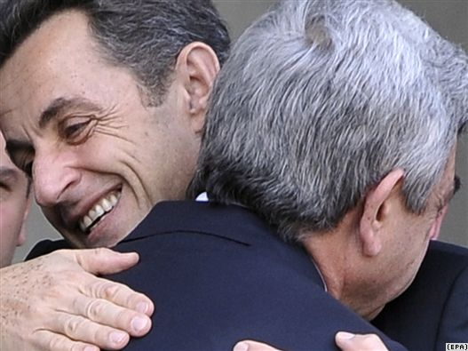 Серж Саргсян и Николя Саркози