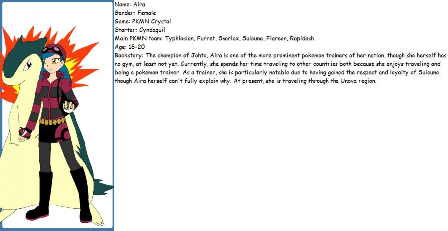 PKMN Crystal Trainer Profile