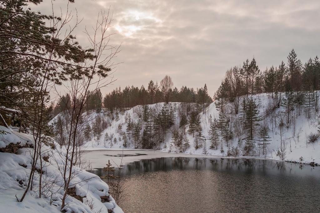 Закат над Кохтла-Нымме