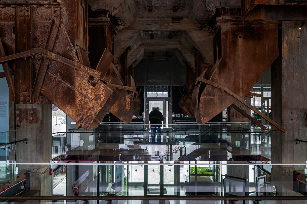 Эстонский музей Шахта в Кохтла-Нымме внутри помещения. Как выглядит
