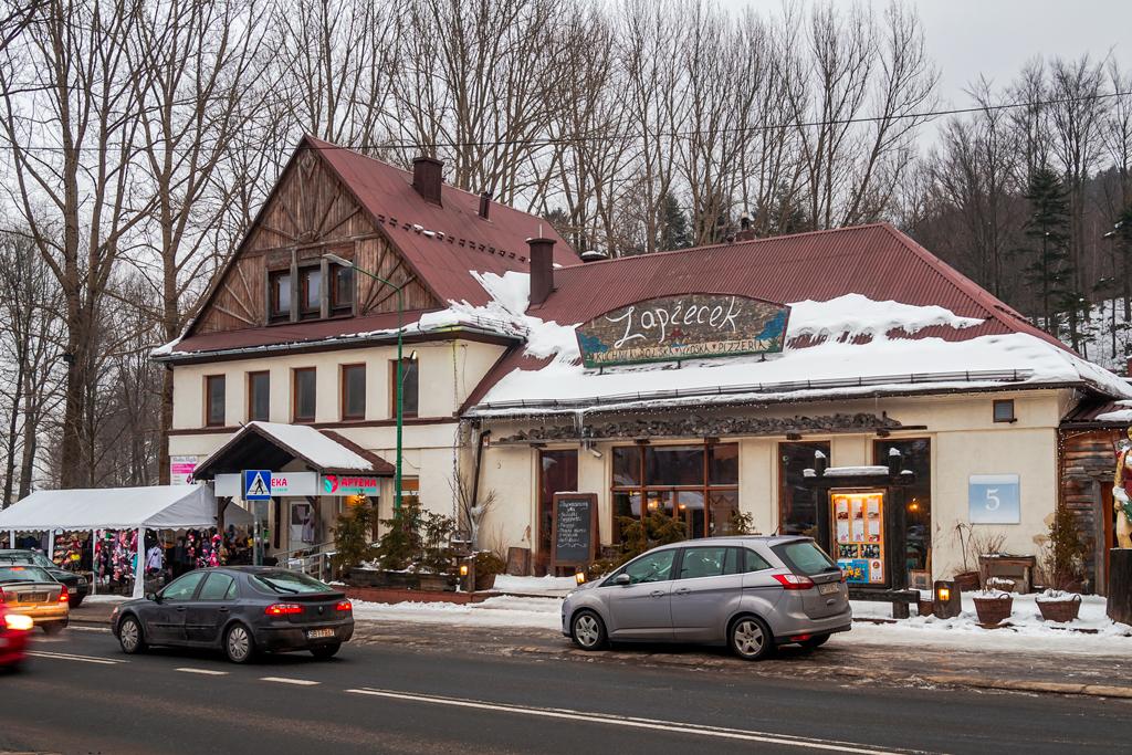 Ресторан на горнолыжном курорте Щирк в Польше