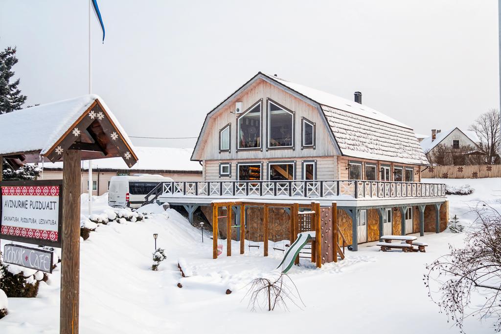Музей рукоделия в Авинруме, Эстония. Магазин сувениров