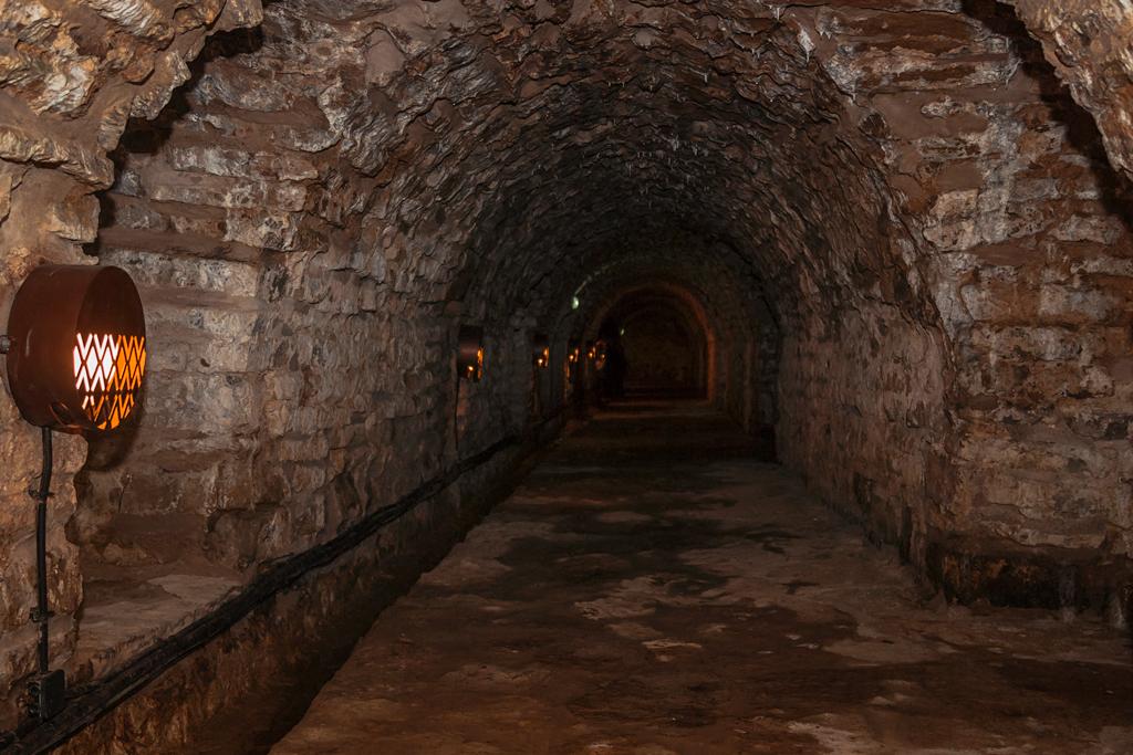 Туннель бастиона в Нарве