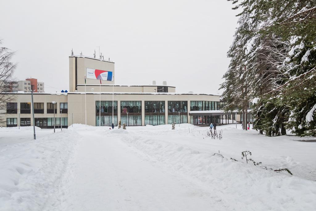 Дворец Культуры в городе Костомукша