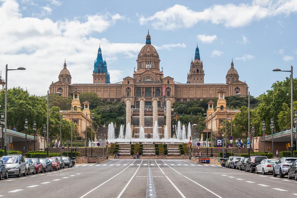 Национальный дворец в Барсеоне