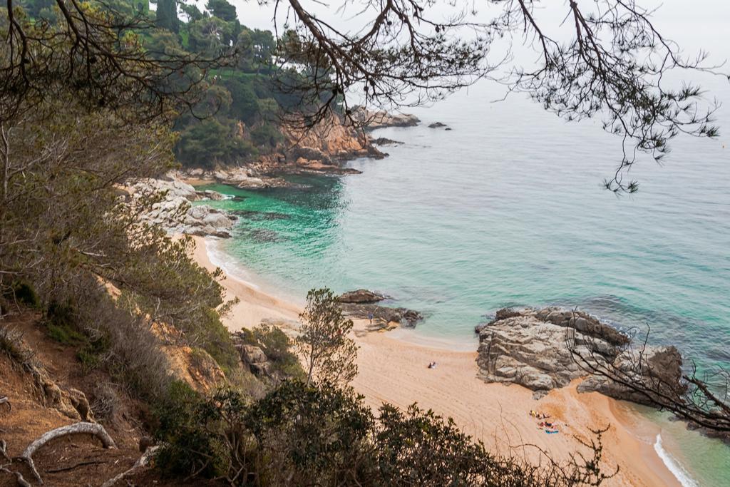 Пляж Боаделла в Льорет-де-Мар, Sa Boadella Lloret-de-Mar