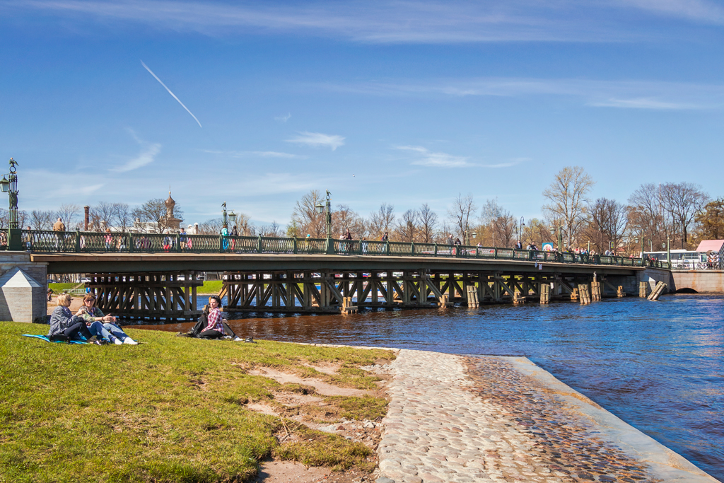 Иоанновский мост на Горьковской