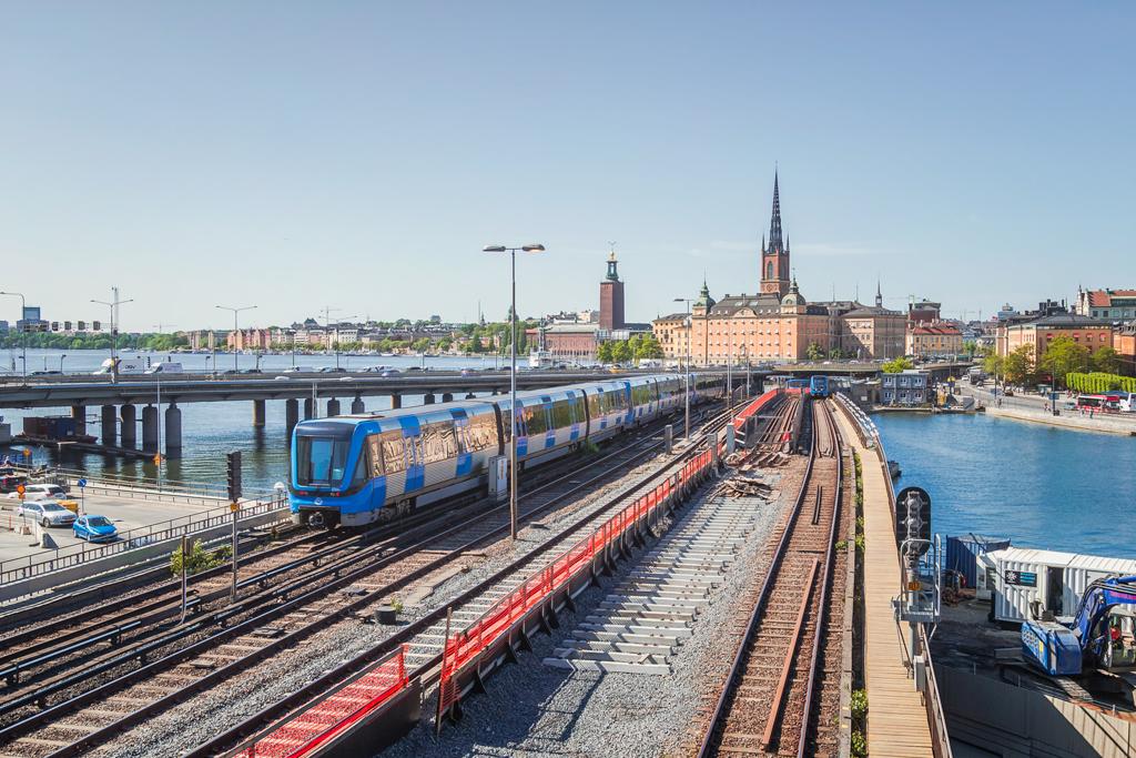 Наземное метро в Стокгольме