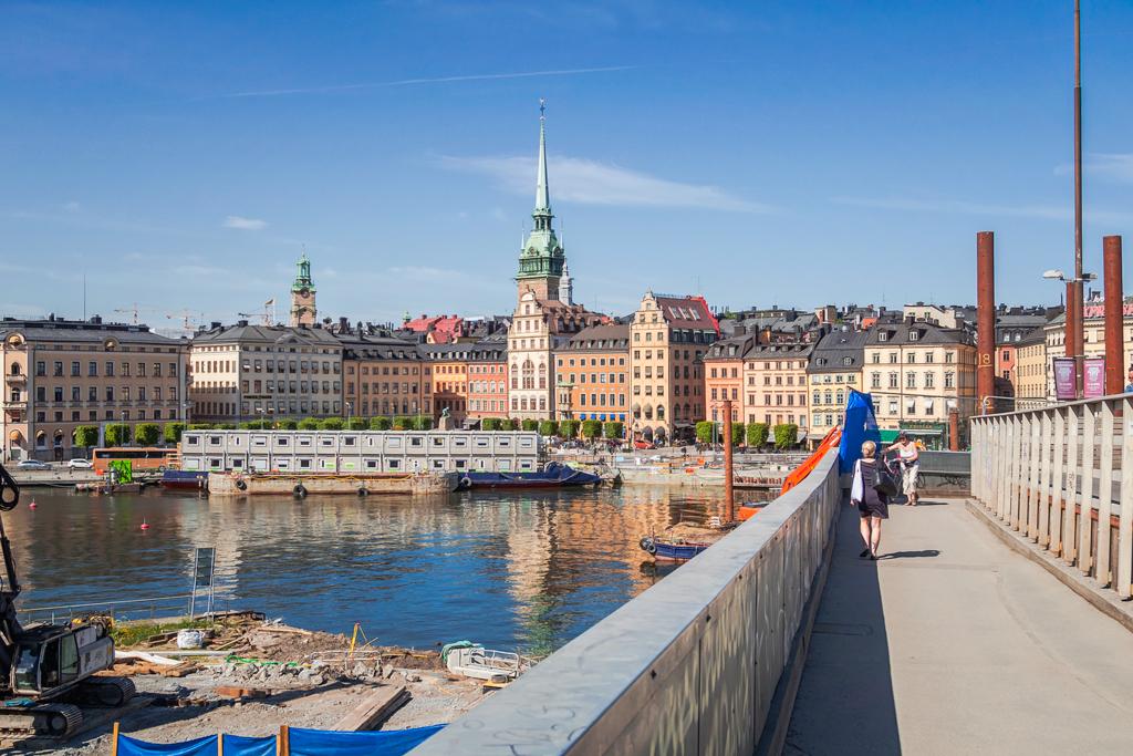 Ремонт в центре Стокгольма