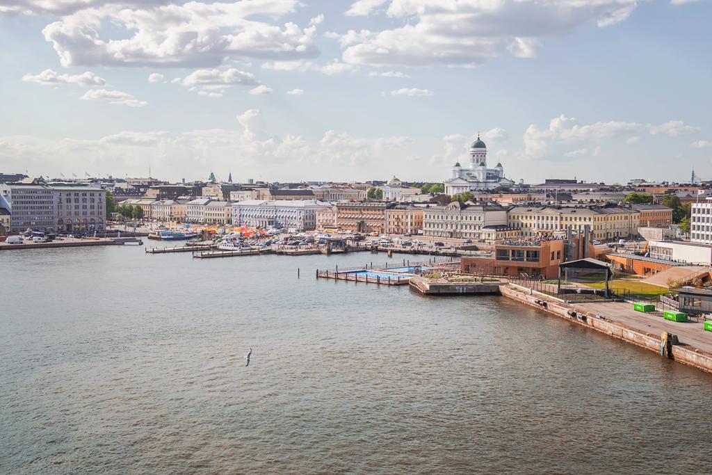 Порт Хельсинки и Allas Sea Pool
