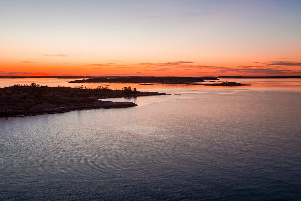 Закат на Алландских островах