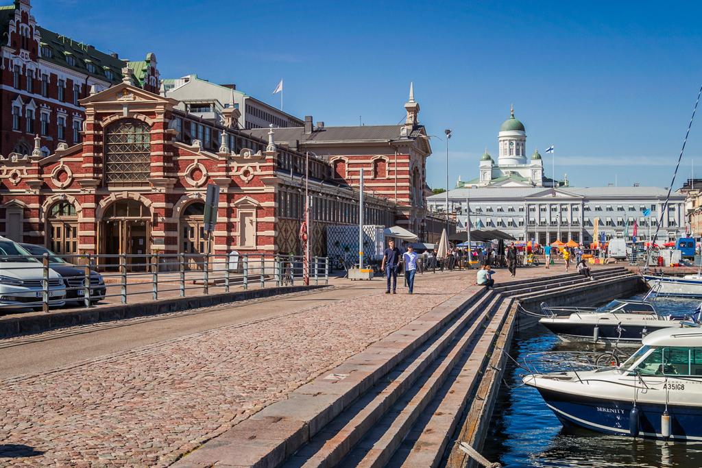 Старый рынок Хельсинки