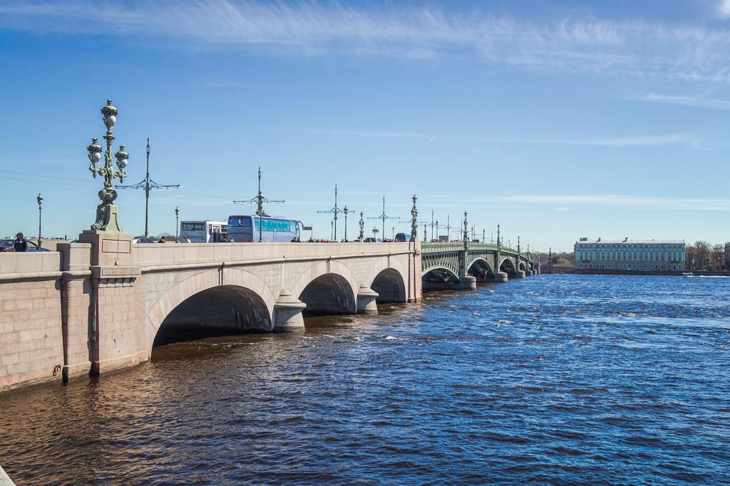 Троицкий мост, фотография в хорошем качестве