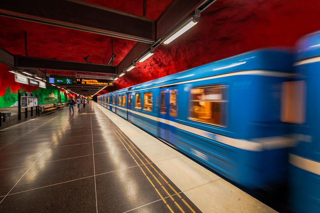 Именные вагоны в метро Стокгольма