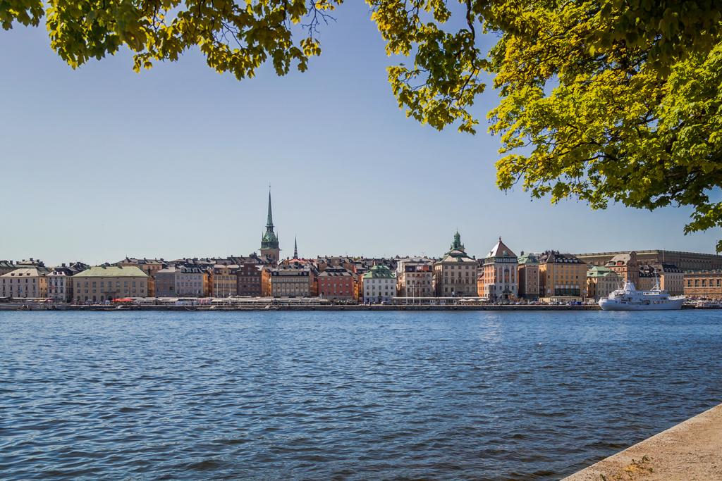 Гамла Стан Стокгольм. Вид на старый город