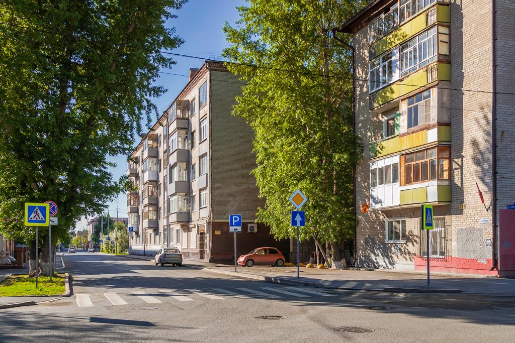 Обычная улица Тюмень