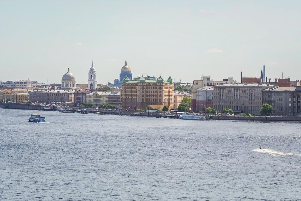 Виды с нового моста Бетанкура