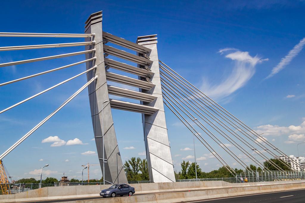 Мост Бетанкура и его вантовая система крепления