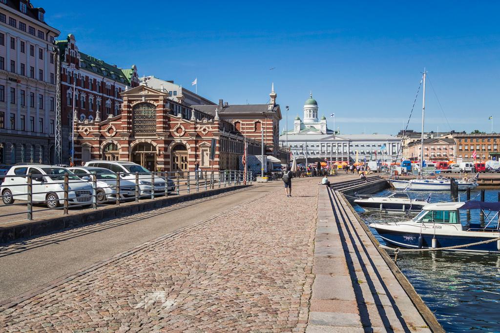 Крытый рынок в Хельсинки