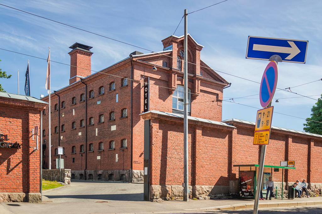 Внешний вид гостиницы и Отель Katajanokka, Катаянокка
