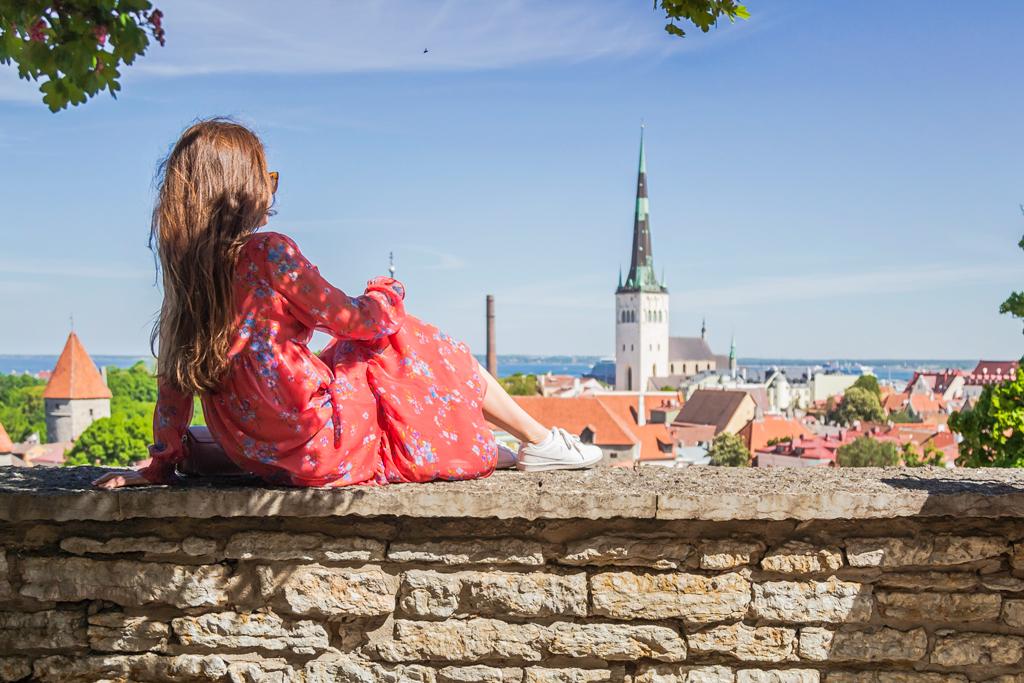Смотровая площадка в Таллине