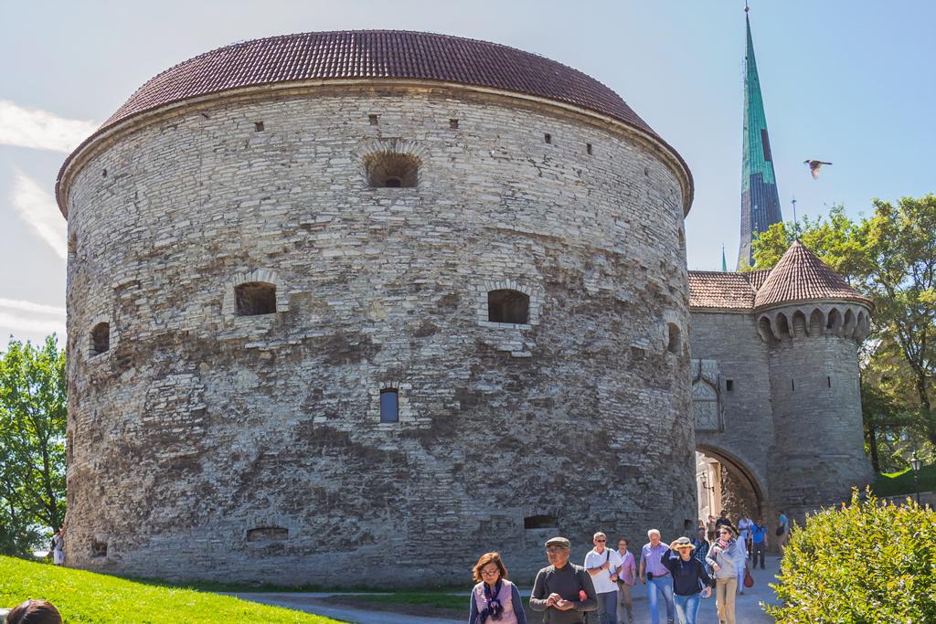 Толстая Маргарита, башня в центре Таллина