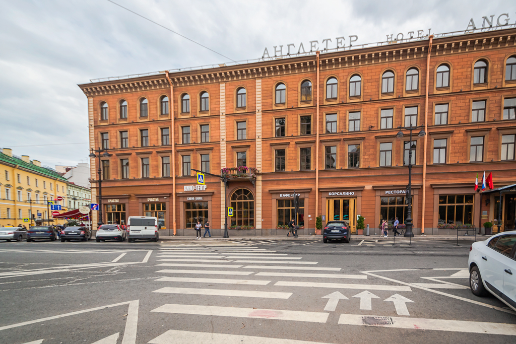 История, легенды и тайны гостиницы Англетер в Петербурге