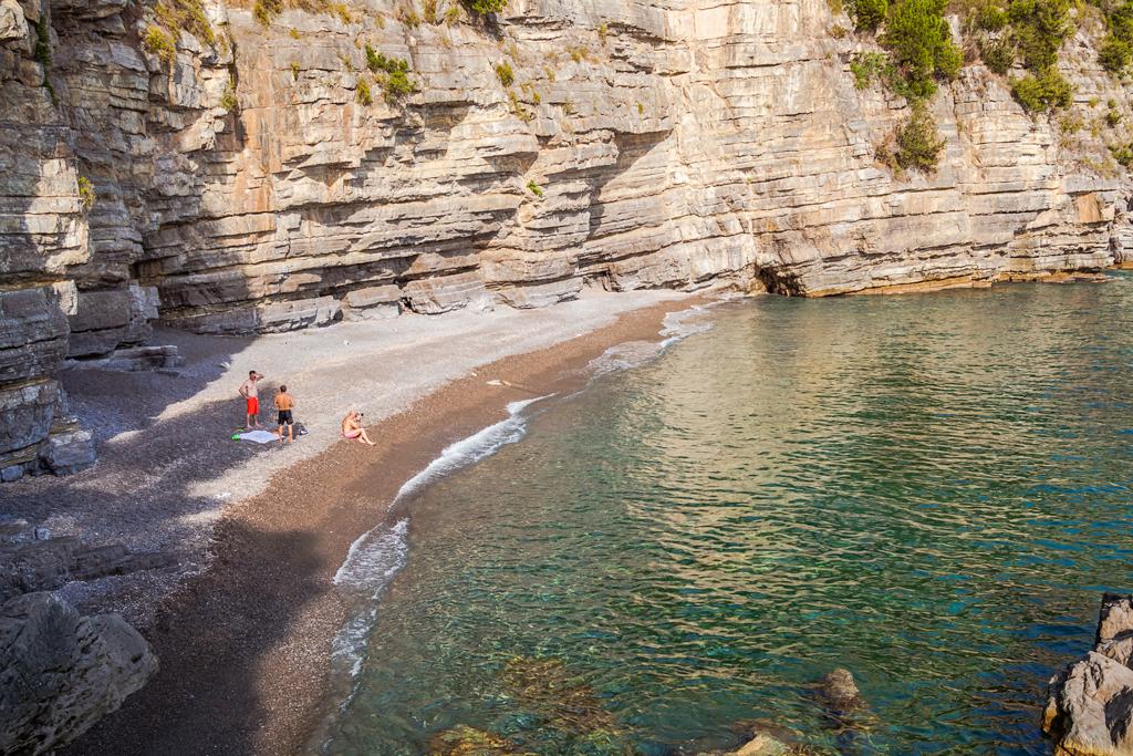 Пляж Тордильяно на амальфитанском побережье