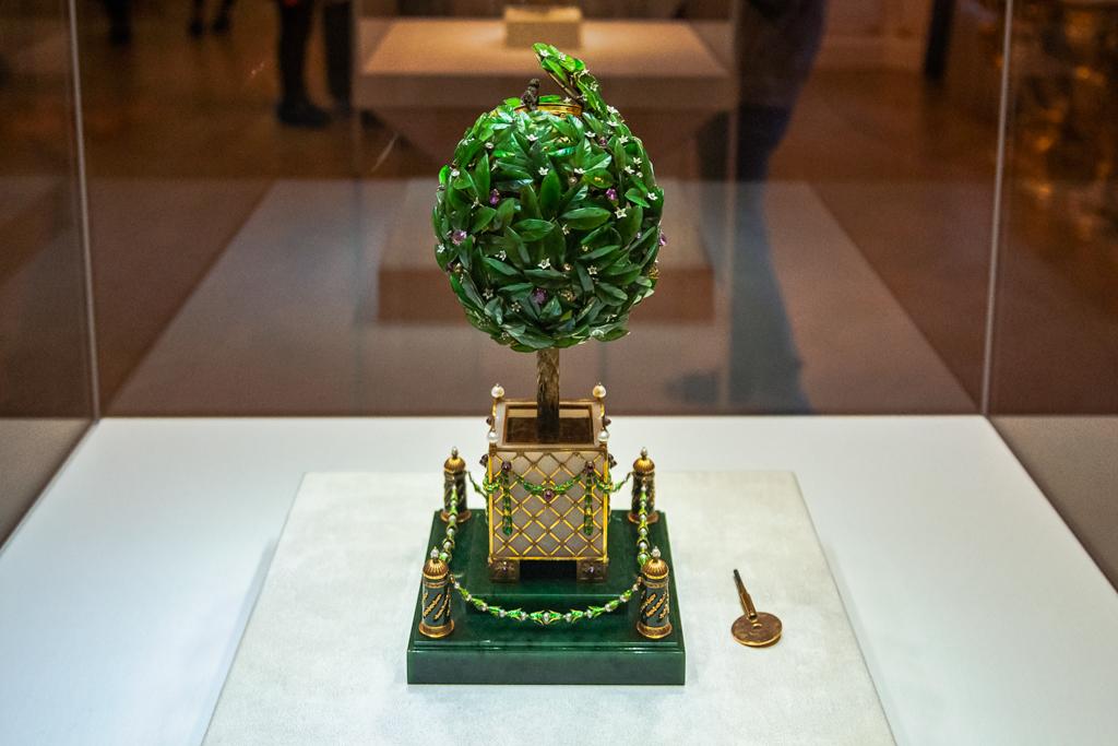 Лавровое дерево, Апельсиновое дерево - яйцо из коллекции Фаберже