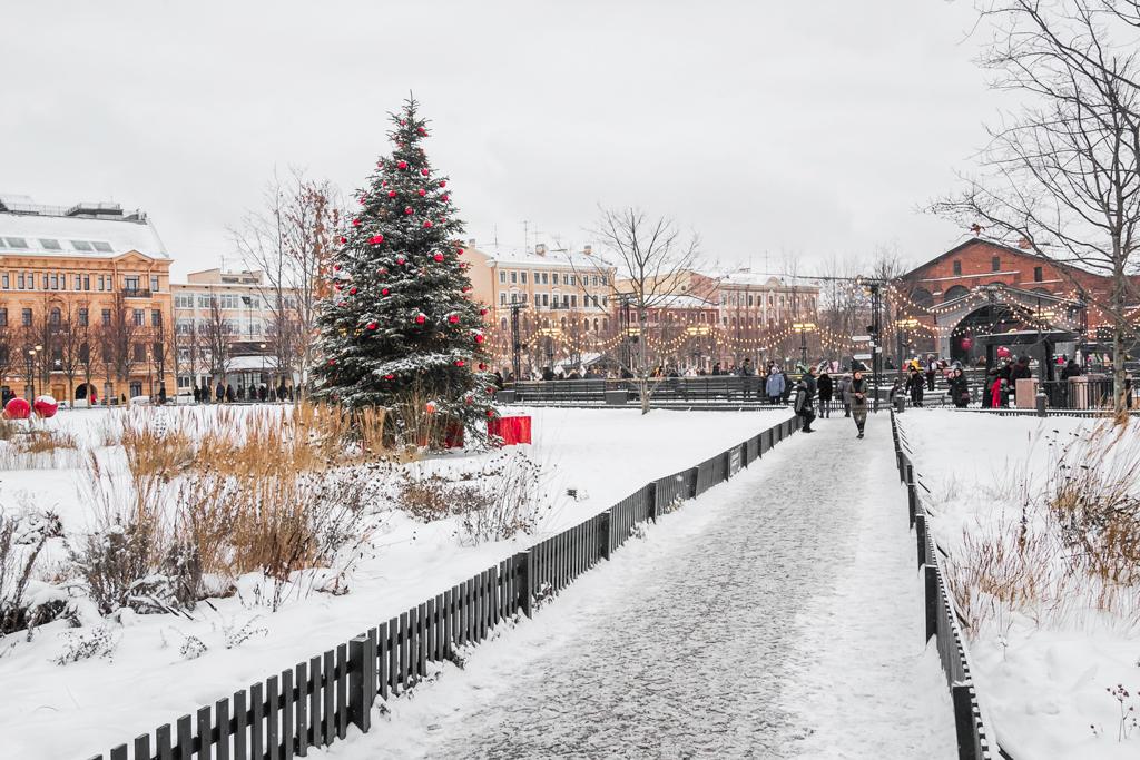 Кусок Европы в сердце Петербурга