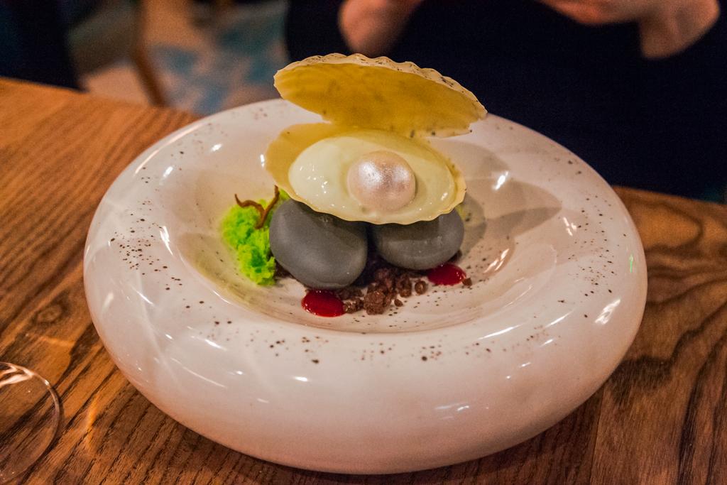 Легендарный десерт берег Лимы в гастропабе Barra Cholo в Петербурге на Академика Павлова