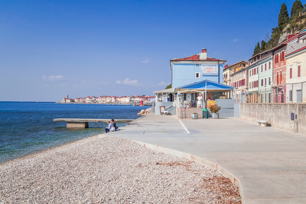 Пиран, ресторан Нептун у моря