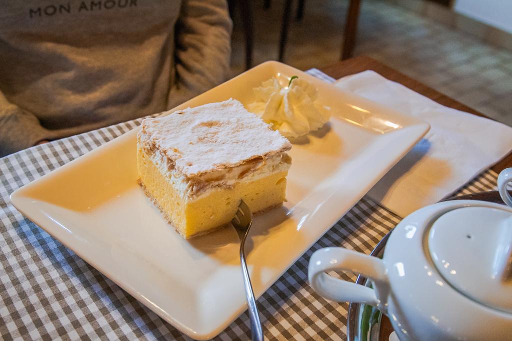 Десерт кремшнита - бледская кремна резина»