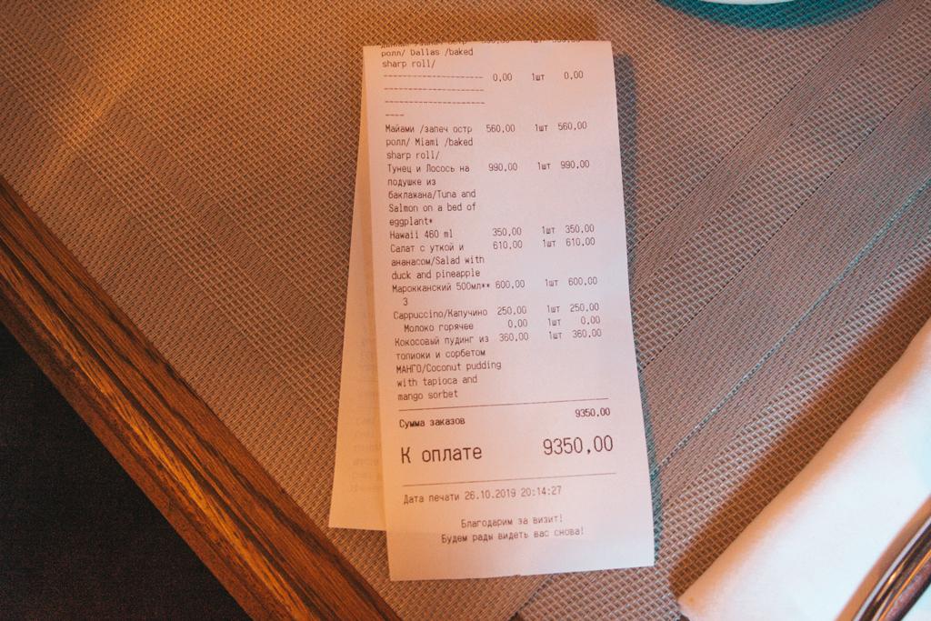 Не понравилось блюдо? Десерт в подарок рублей, можно, только, ресторана, ресторан, поесть, здесь, баллов, просто, «Крыша, качестве, может, человек, сумму, этого, будет, пудинг, вполне, итоге, салат