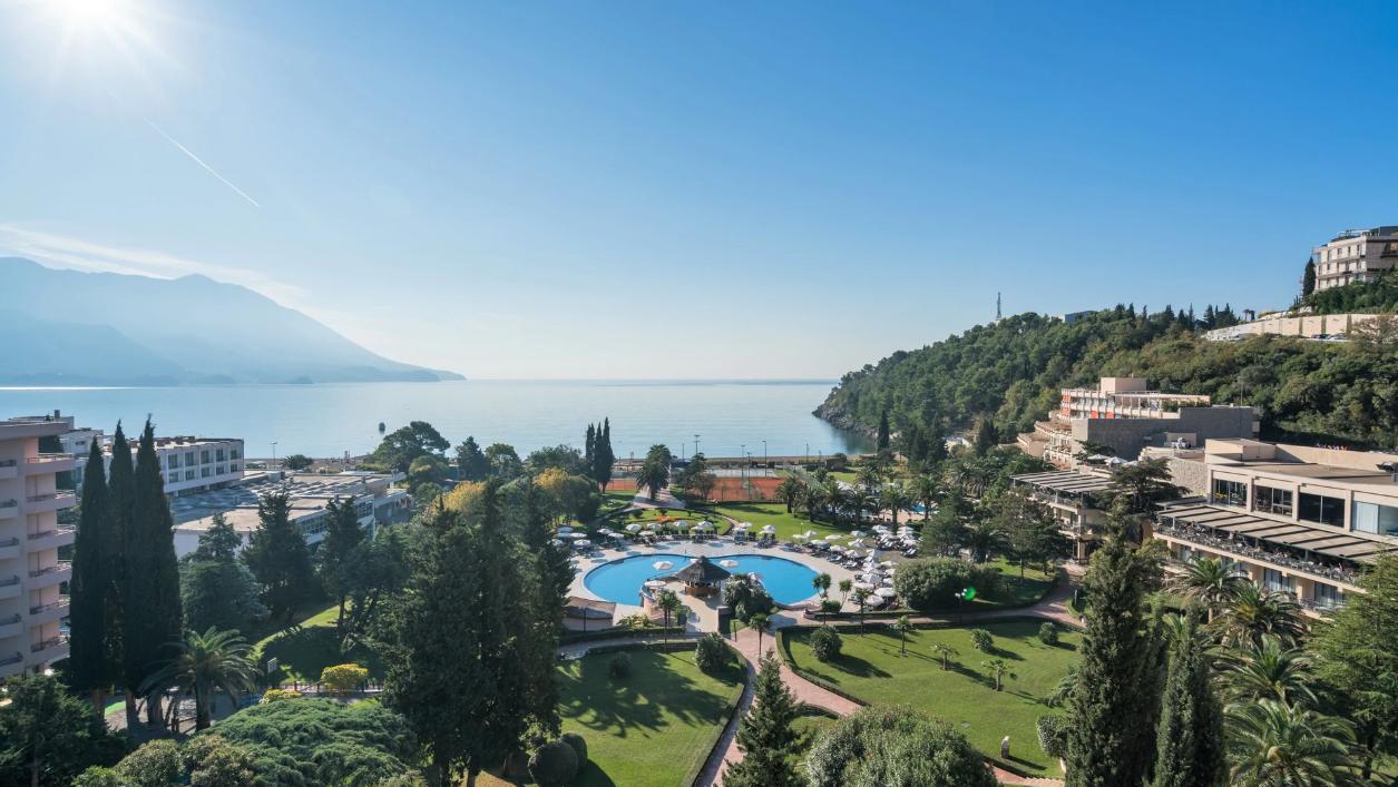 Вид из номера отеля Iberostar Bellevue