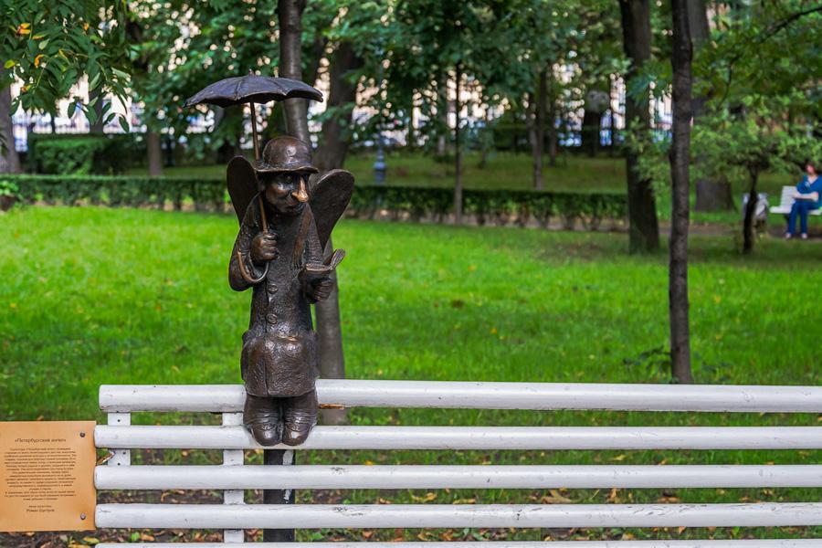 фото петербургского ангела помнить
