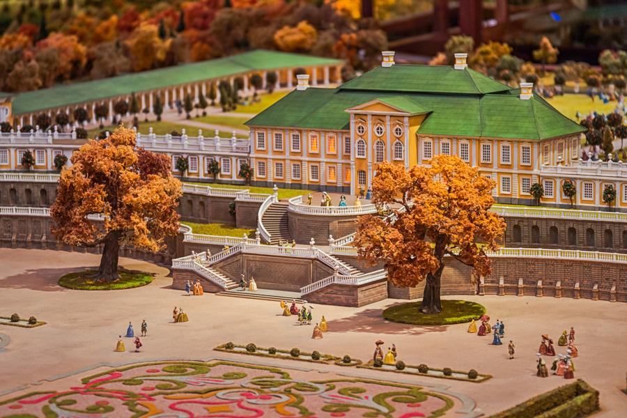 Макет Петербурга XVIII века