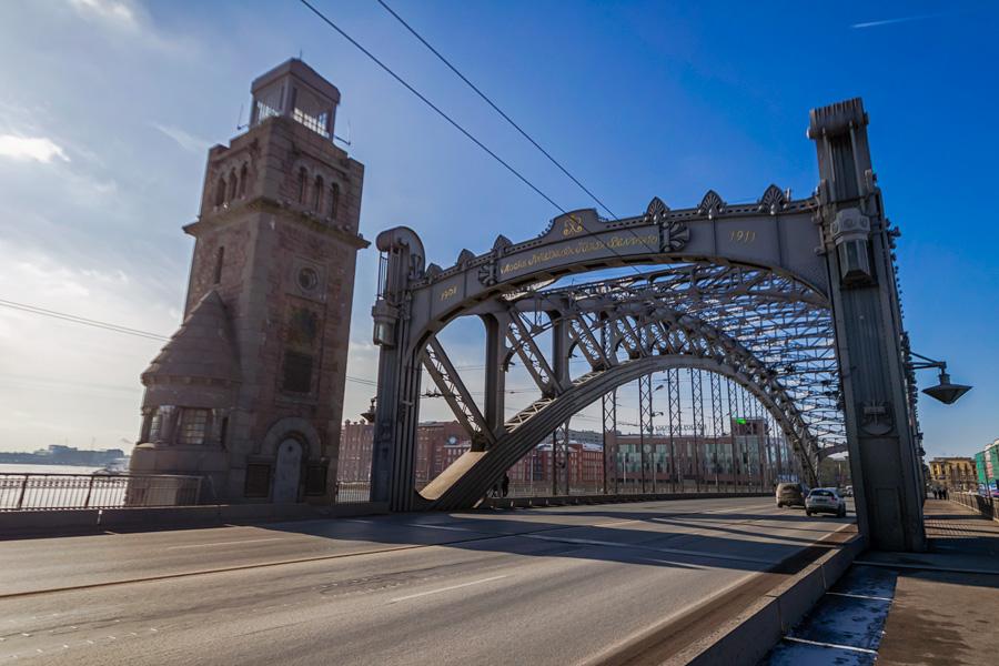 Большеохтинский мост, фотография из блога Вячеслава https://alkopona.livejournal.com/
