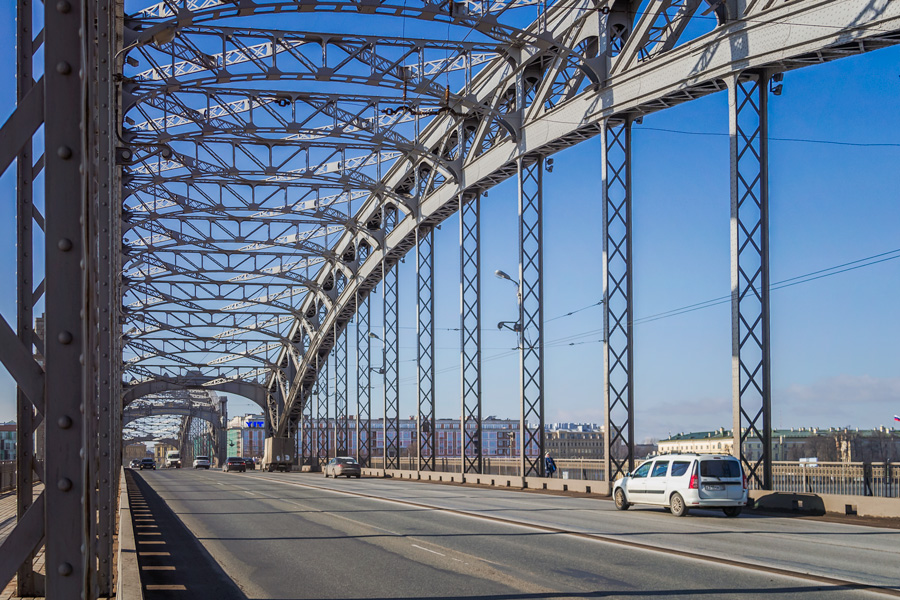 Городские легенды: Большеохтинский мост (Петра Великого): alkopona — LiveJournal